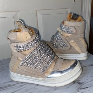 Jeffrey Campbell Chain High top sneakers